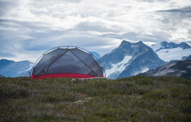 How to insulate a tent