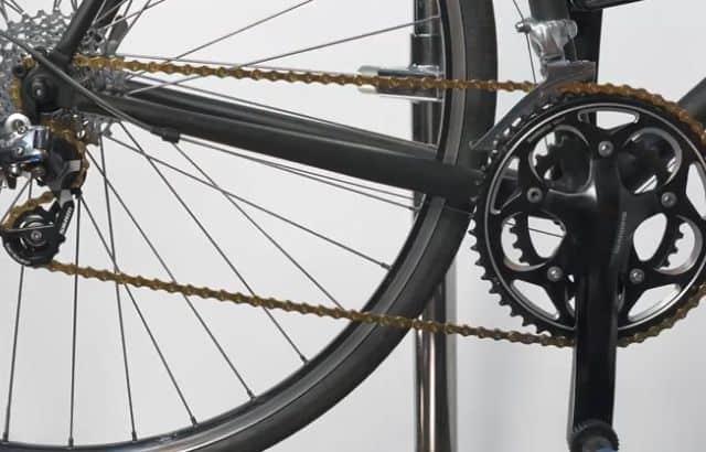 bike chain skips when pedaling hard