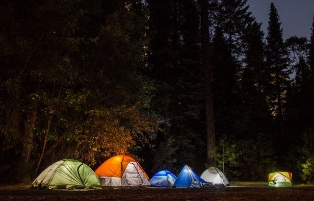 camping hacks to stay cool