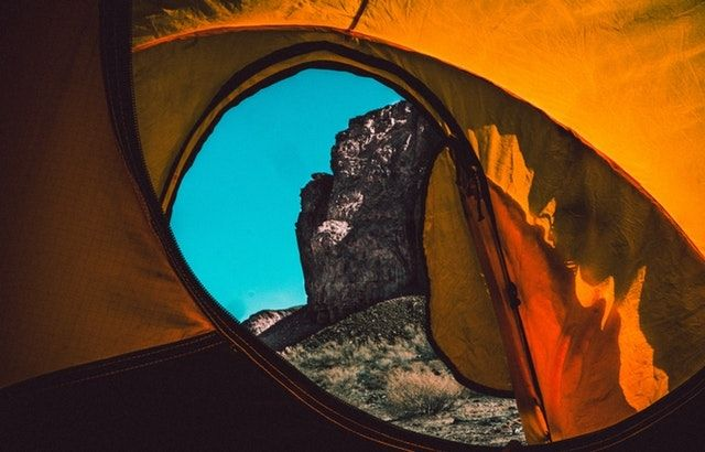hot weather tent camping