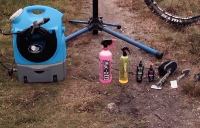 mountain bike wash station