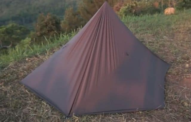 reflective sunshade for tent