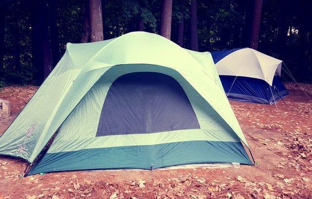 self cooling tent