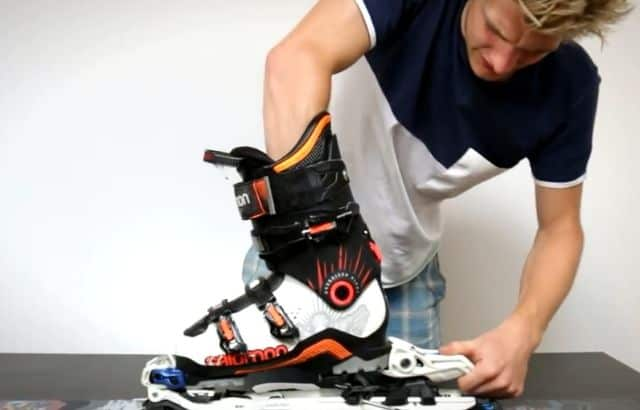 ski binding adjustment cost