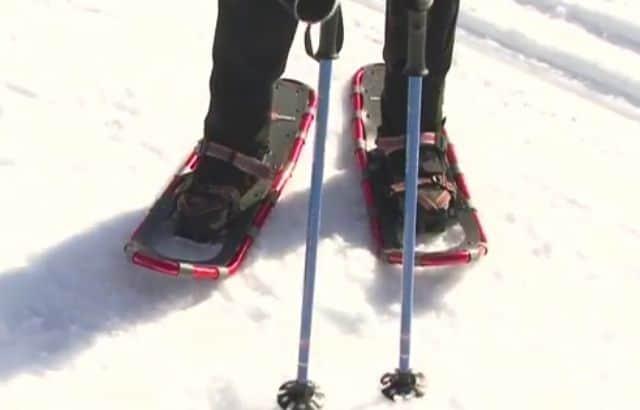 snowshoeing clothing