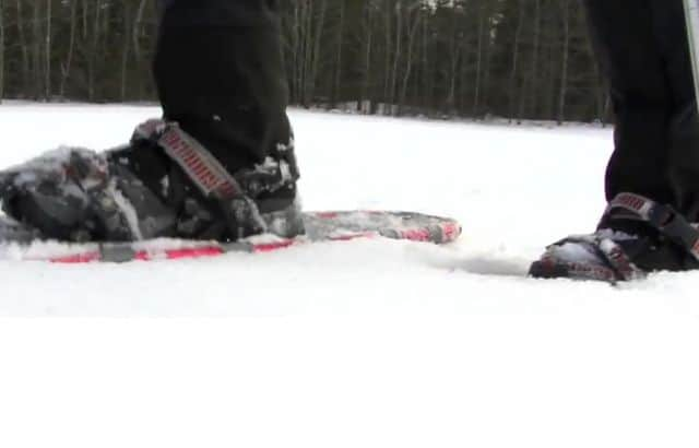 snowshoeing meaning