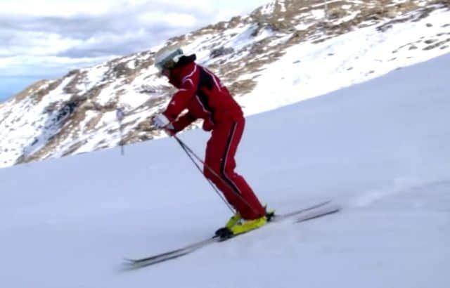 downhill skiing for beginners
