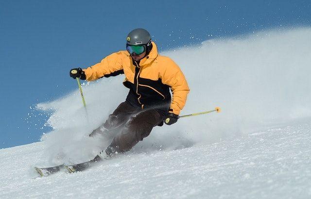 hockey stop skiing