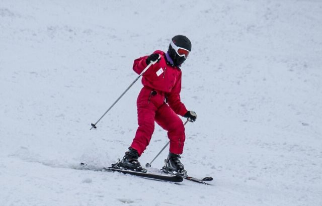 how to ski beginner