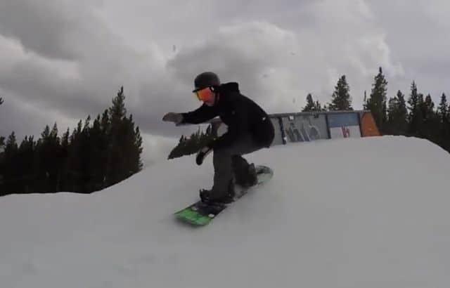 snowboard width