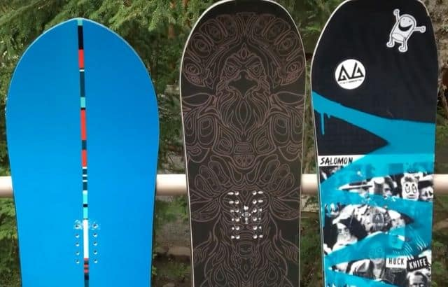 types of snowboards camber rocker