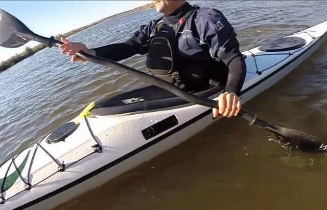 what happens when you choose kayak paddles?