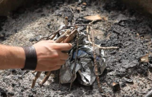 how to start a fire easy