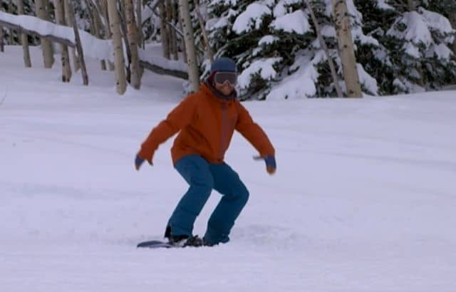snowboard exercises for beginners