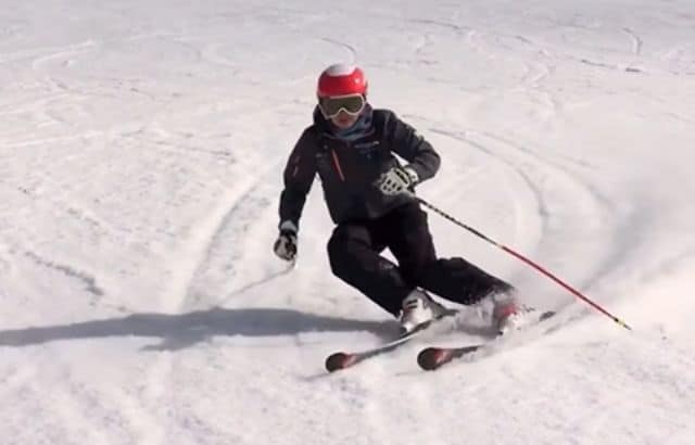 how to carve skiing