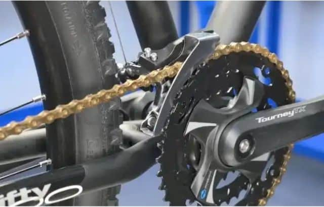 how to tight a bike a chain