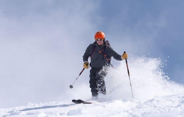 is skiing hard