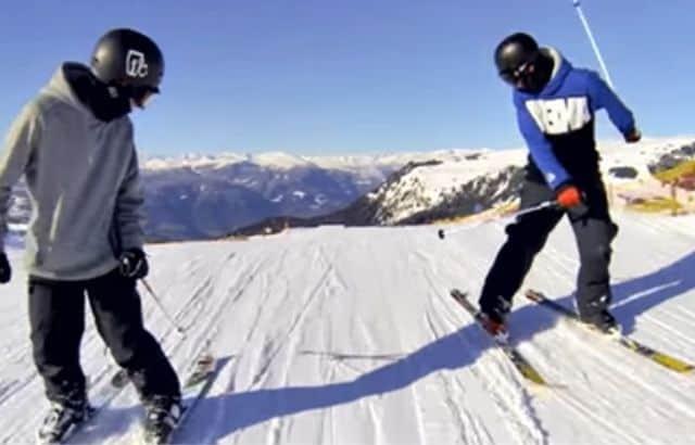 what to wear ski when it's warm