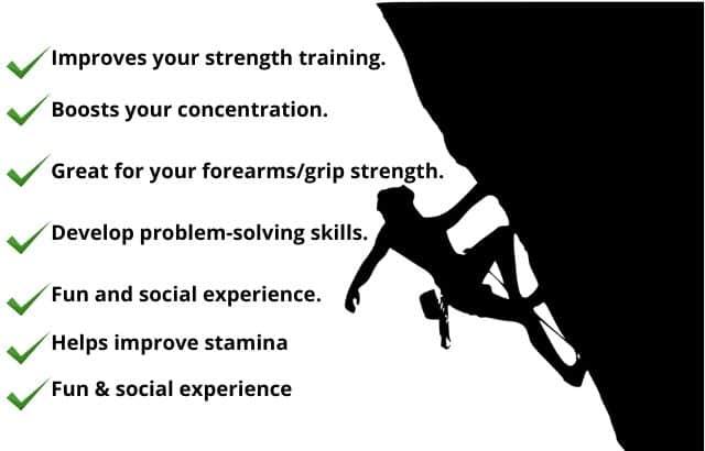 Bouldering benefits