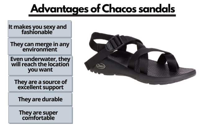 advantages of Chacos