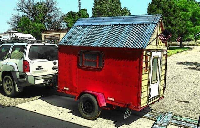 Dustin & Kim's $800 Micro Camper