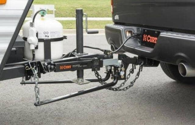 camper weight distribution hitch