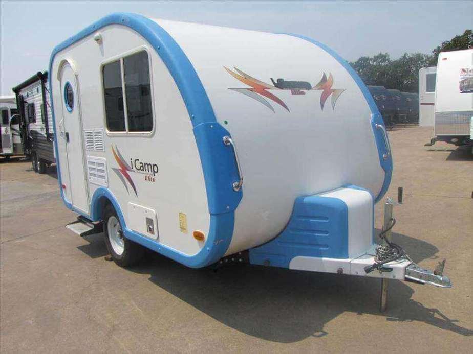 teardrop trailers with bathroom