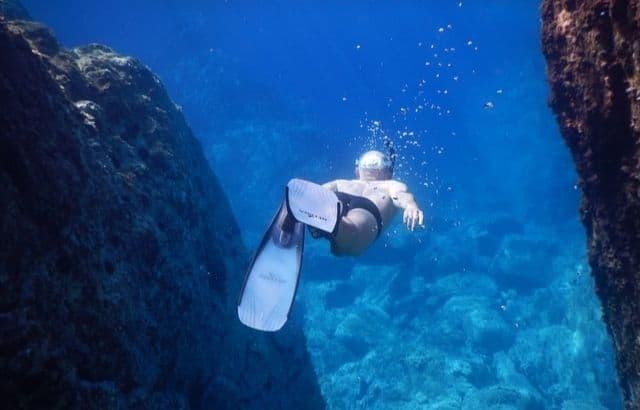 Scuba diving definition