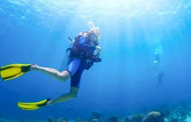 how to do scuba diving