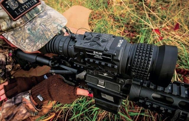 can you hunt deer with a thermal scope