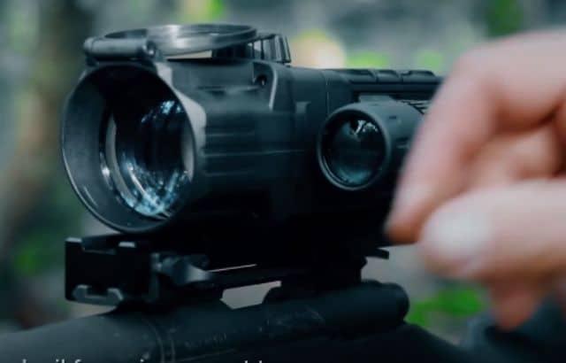 armasight by flir predator thermal rifle scope