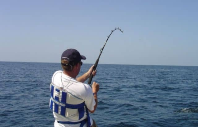 can you put heavier line on a rod