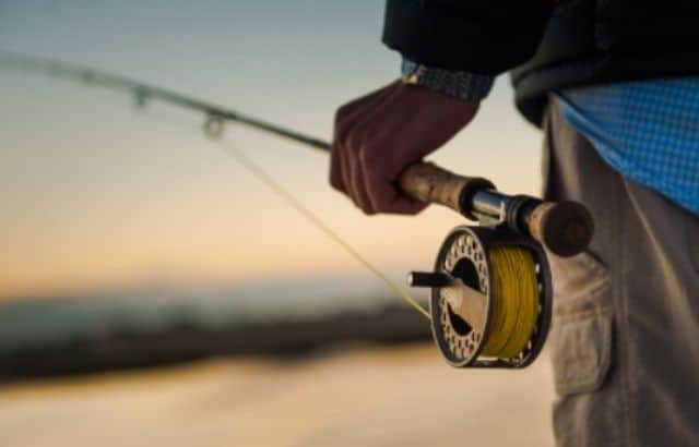 fishing rod line capacity