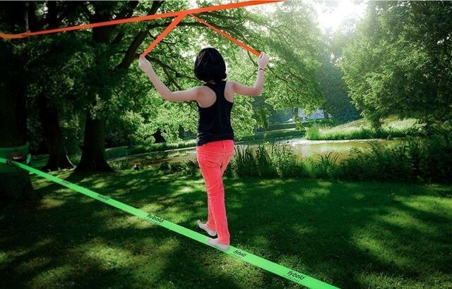 best slackline kit for beginners