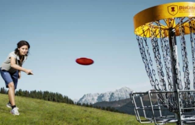 disc golf points
