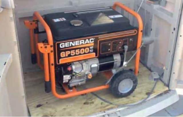 generator noise reduction