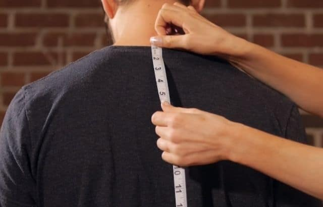 how to measure torso circumference
