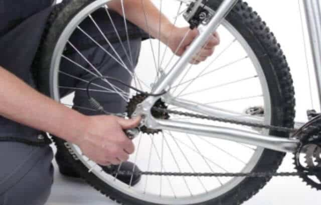 how to tighten chain on mountain bike
