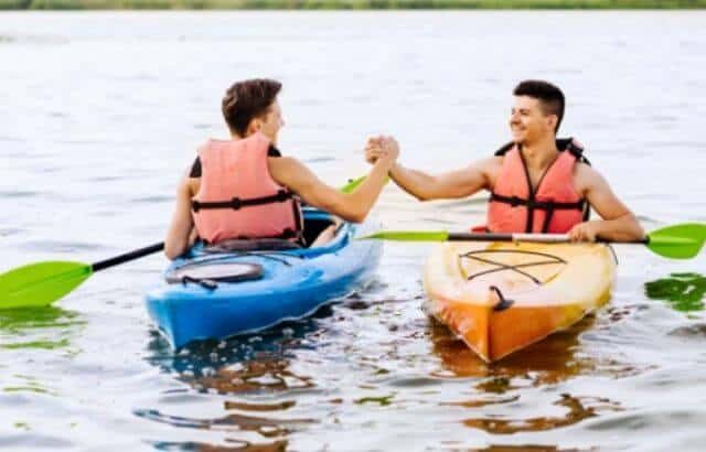 kayak camping articles