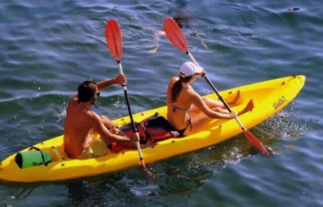 kayak camping gear