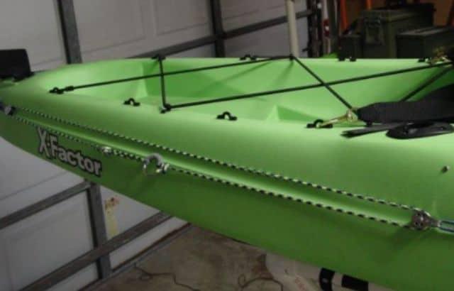 rigging a kayak for saltwater fishing