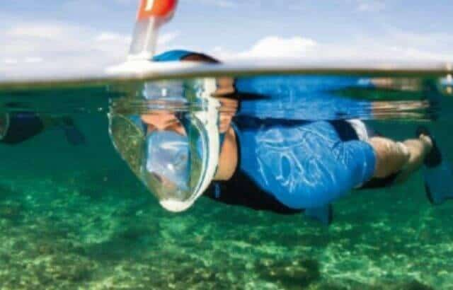 Can you Breathe Underwater with a Full Face Snorkel Mask