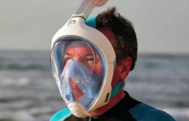 how long can you breathe underwater with a snorkel