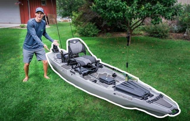 fishing kayak setups