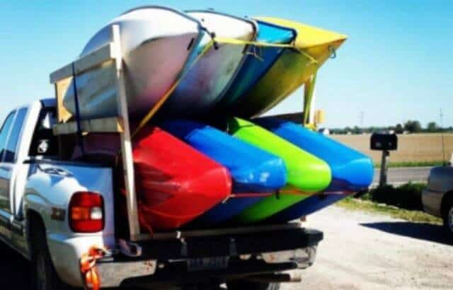 How to Transport Kayak in a Truck Bed