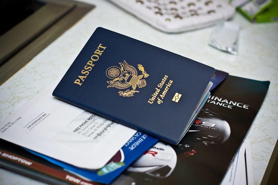 travel document number