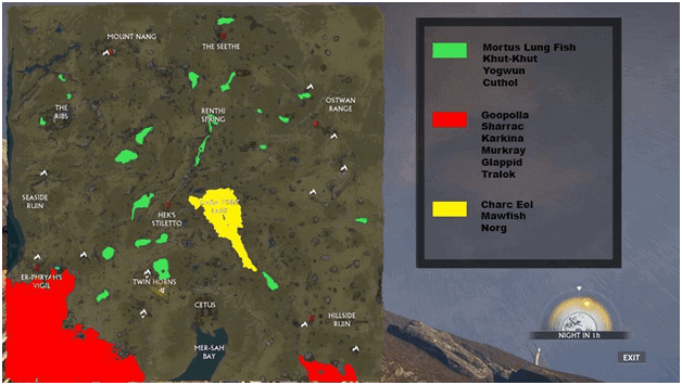 Warframe Norg Fishing Spot