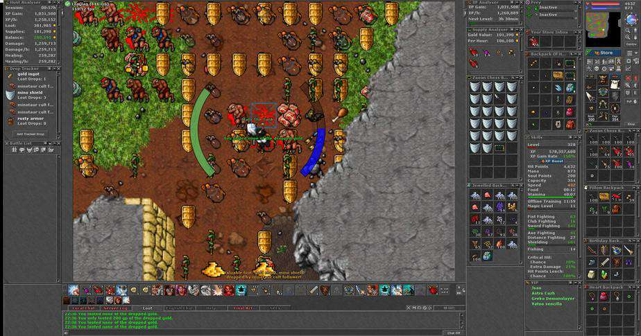 Tibia Hunting Places